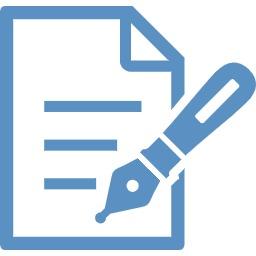 ペン付きの書類アイコン ご相談の流れ 鈴木行政労務管理事務所
